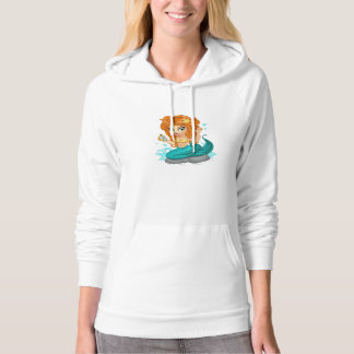 A Cute little mermaid and a compass Hoodie