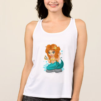 A Cute little mermaid and a compass Singlet