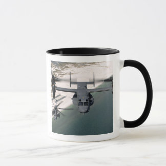 A CV-22 Osprey and an MH-53 Pave Low Mug
