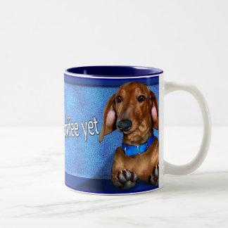 A Dachshund Coffe Cup Two-Tone Mug