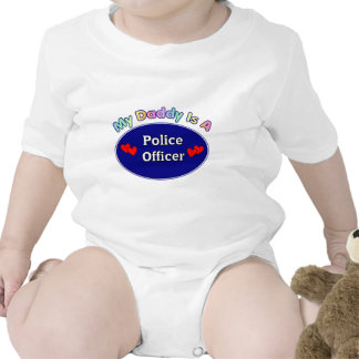 A Daddy Is A Police Officer Rompers