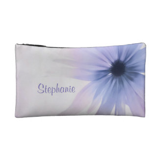 A Daisy with Purple, Pink and Gray Cosmetic Bag
