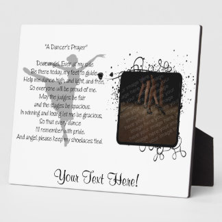 A Dancer's Prayer Dance Plaque