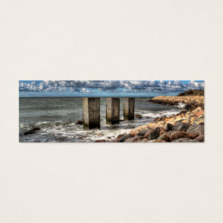 A danish seascape Bookmark Mini Business Card