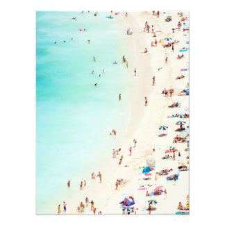A Day At The Beach Photo Print