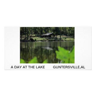 A DAY AT THE LAKE PHOTO CARD