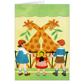 A Day At The Zoo Card