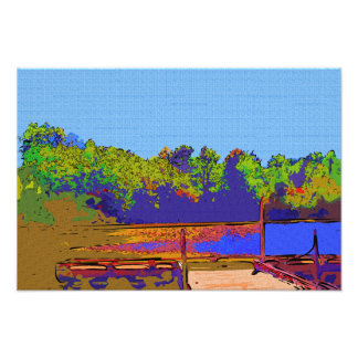 """""""A Day by the Water"""" Photo Paper (Satin)"""