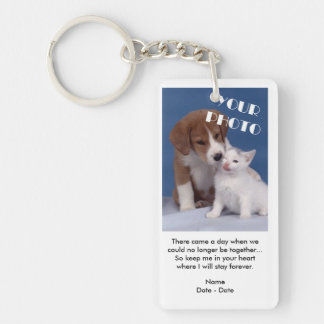 A Day Came Pet Memorial Keychain