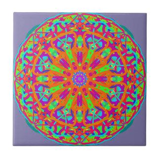 A Day for Me Mandala Design Ceramic Tile
