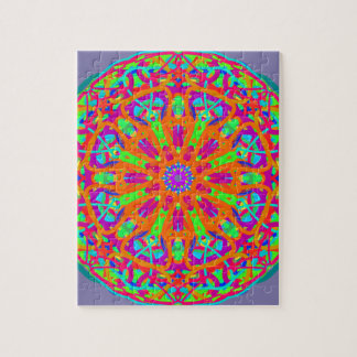 A Day for Me Mandala Design Jigsaw Puzzle