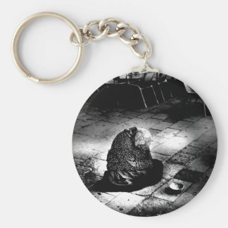 A Day in Rome Basic Round Button Key Ring