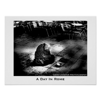 A Day In Rome Poster