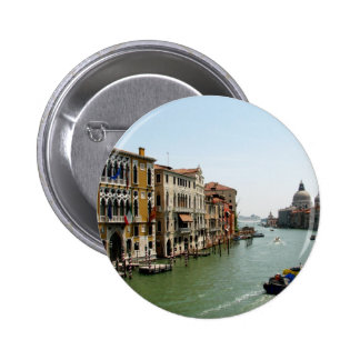 A Day in Venice 6 Cm Round Badge
