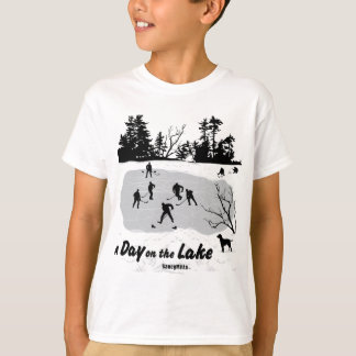 A Day on the Lake Hockey Youth T-Shirt