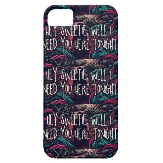 A Day To Remember Lyrics iPhone 5 Case