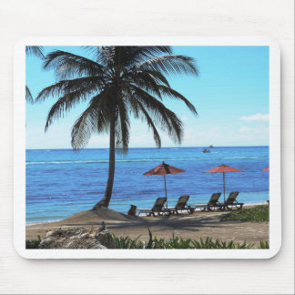 A day under the palm tree mouse pad