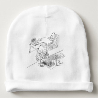 A day with Dad Baby Beanie