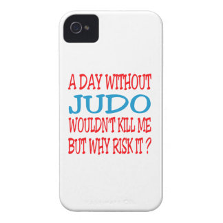 A Day Without Judo Wouldn t Kill Me iPhone 4 Case