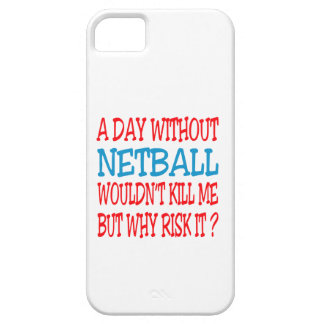 A Day Without Netball Wouldn t Kill Me Case For iPhone 5/5S