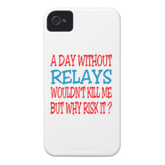 A Day Without Relays Wouldn t Kill Me But Why Risk iPhone 4 Case-Mate Cases