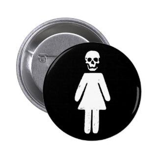a dead girl button