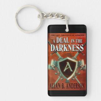 A Deal in the Darkness Designer Keychain