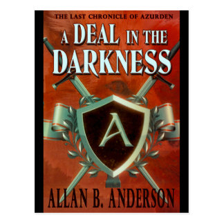 A Deal in the Darkness Designer Postcard