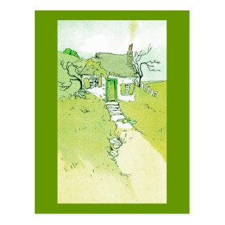 A Decrepit Little House Postcard