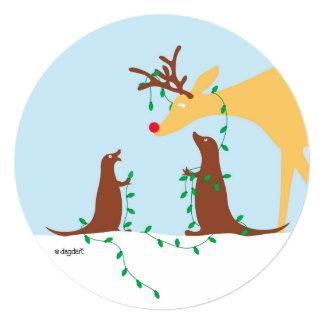 A Deer Season Greeting Card