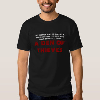 A Den of Thieves T-shirts