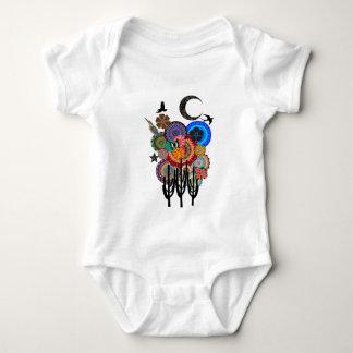 A Desert Festival Baby Bodysuit