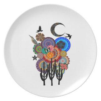 A Desert Festival Plate
