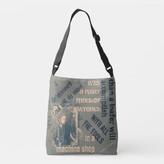 A determined soul crossbody bag