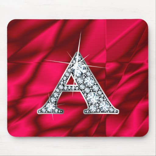 "A ""Diamond Bling"" Mousepad"