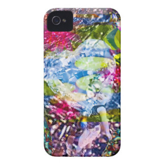 A diamond heart shines on the pond Case-Mate iPhone 4 case