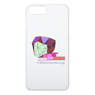 A Diamond in the Rough iPhone Case