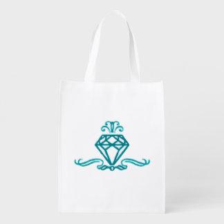 A Diamond in the Rough Reusable Grocery Bag
