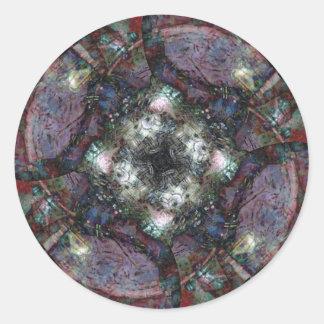 A Different Machine Round Sticker