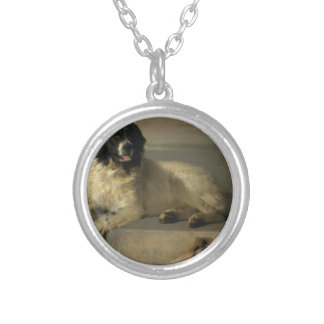 A Distinguished Member of the Humane Society Silver Plated Necklace