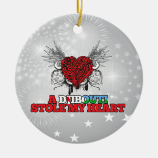 A Djibouti Stole my Heart Ornament