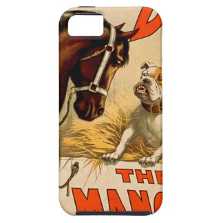 """A Dog in """"The Manager"""" Tough iPhone 5 Case"""