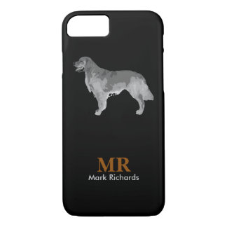 a dog, personalized iPhone 7 case