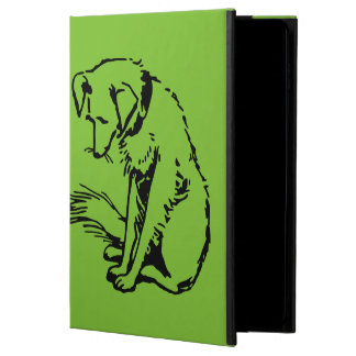 A dog sitting powis iPad air 2 case