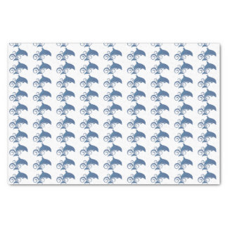 A Dolphin Tissue Paper