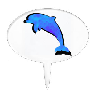 A Dolphins Tale Cake Topper