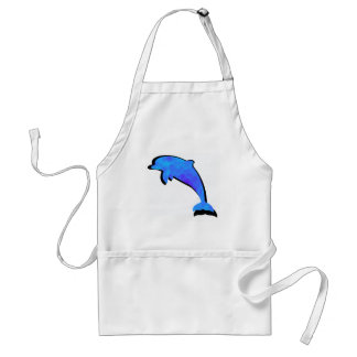 A Dolphins Tale Standard Apron