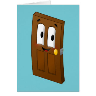 A-door-able - greeting card