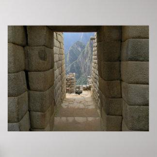 A Door From Machu Picchu Poster