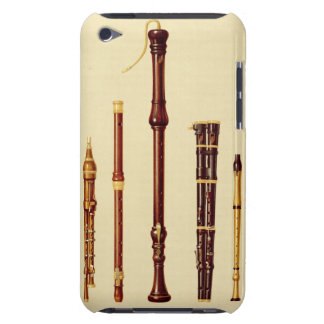 A double flageolet, a German flute, a bass recorde iPod Touch Cover